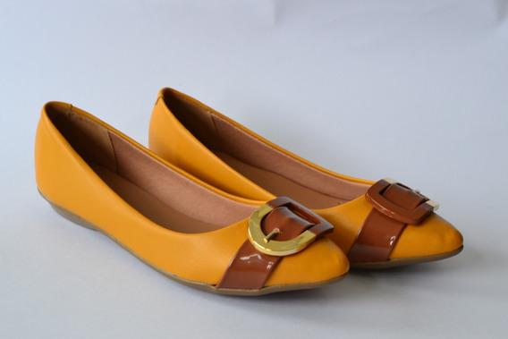 Sapatilha Feminina Mostarda/amarela