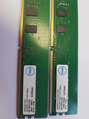 Memória Dell 8gb Ddr4-2400 Rdimm Pc4-19200t-r Single Rank