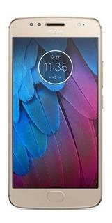 Motorola Celular Libre Motorola Moto G5s Ds Dorado 4g Tdckt