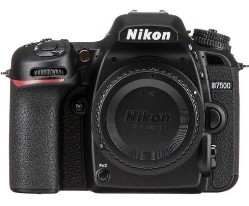 Câmera Dslr Nikon D7500 (somente Corpo)
