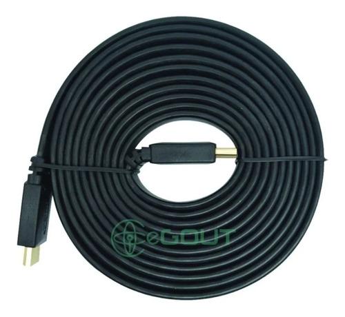 Imagen 1 de 1 de Cable Hdmi 10 Metros Full Hd  Version 1.4 3d