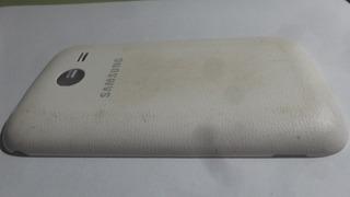 Tampa Traseira Celular Samsung Sm G110b Branco Original
