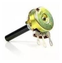 Potenciômetro 220k Linear Sem Chave 23mm Eixo Plastico