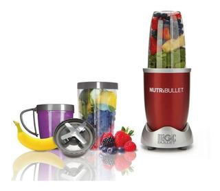 Combo Nutri Pack: Nutribullet 600 Color Rojo Y Kit De Lujo