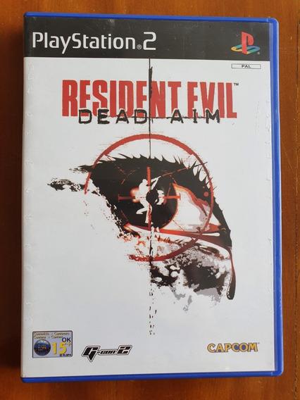 Resident Evil Dead Aim Ps2 Europeu Original