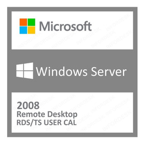 20 Cal Acess Remoto Rds/ts Windows Server 2008 R2 User/devic