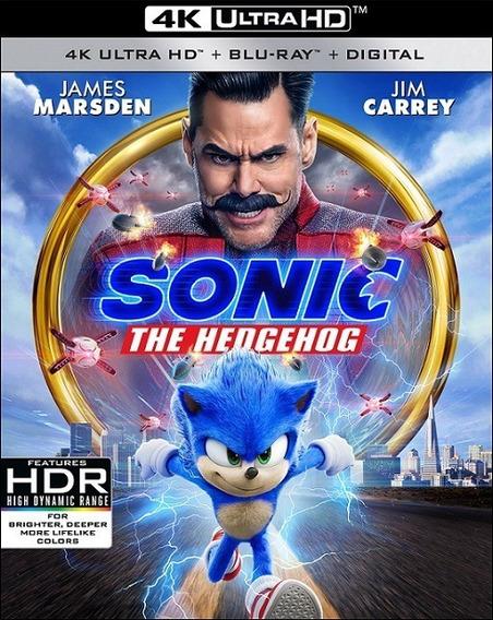Sonic: The Hedgehog 4k (2020) Digital