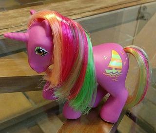 A62 Mi Pequeño Pony Tropical Pony G1 Hula Hula. My Little Po