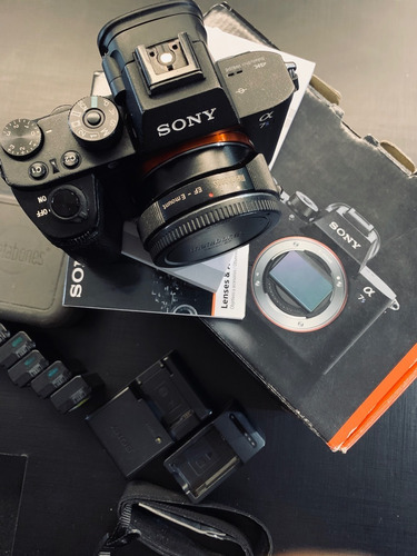 Câmera Sony A7s Ii Video Metabones
