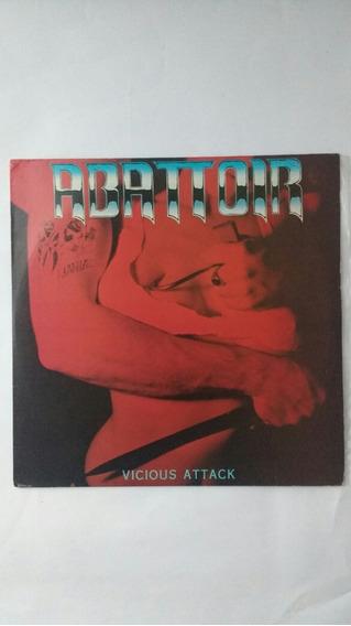 Lp Abattoir Vicious Attack Metal Sem Riscos Frete Grátis