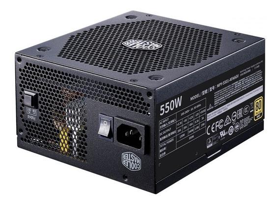 Fonte Atx V550 80 Plus Gold Full Modular Cooler Master