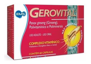 Gerovital Complexo Vitamínico Com Ginseng C/60 Capsulas