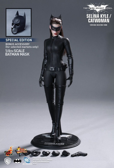 Hot Toys Mms188 - The Dark Knight Rises - Catwoman Vip