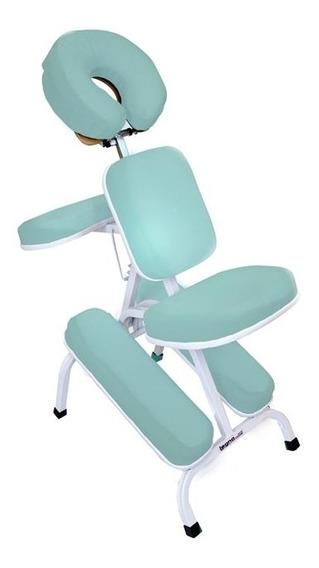 Cadeira Quick Massage De Metal Para Fisioterapia E Massagem