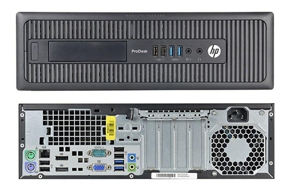 Pc Recertificado Hp Prodesk 600 G1 Sff I3-4130 4gb 500gb Dvd