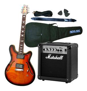 Guitarra Crimson Seg262 + Ampli Marshall Mg10 + Acc