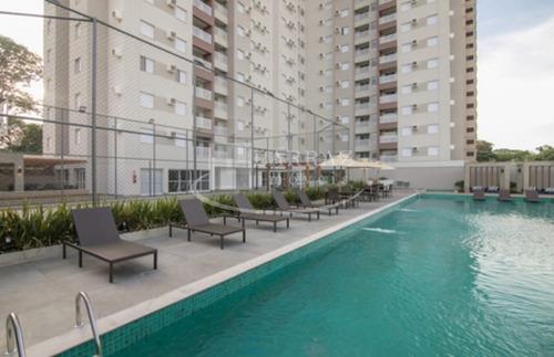 Apartamento Novo Mobiliado Para Venda Na Ribeirania Av. Leao Xii, Trend Residence Club, 2 Dormitorios Sendo 1 Suite, 58 M2 , Lazer Completo - Ap01369 - 33907452