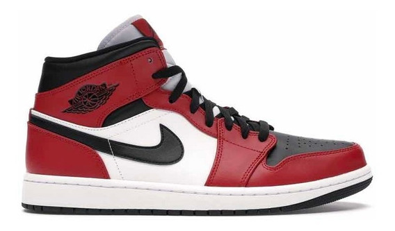 Hat Plaza Zapatillas Nike Air Jordan Mid Chicago Black Toe