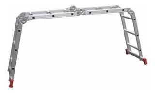 Escalera Aluminio Articulada Botafogo 4 Tramos X 3 Escalones
