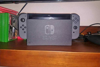 Nintendo Switch Con Juego Dragónball Figther Z Y Pro Control