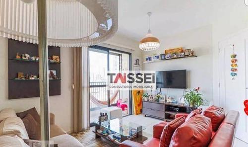 Apartamento Com 3 Dormitórios À Venda, 81 M² Por R$ 645.000,00 - Jardim Aeroporto - São Paulo/sp - Ap7931