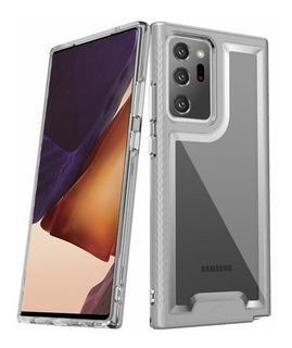 Estuche Protector Mybat Lux Samsung Note 20 Ultra - Plateado