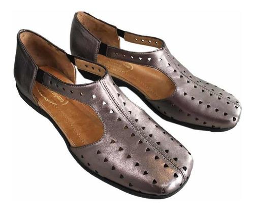 Imagen 1 de 1 de San Crispino Zapatos Verano Peltres 1792