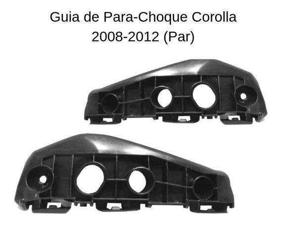 Guia De Para-choque Corolla 2008 2009 2010 2011 2012 O Par