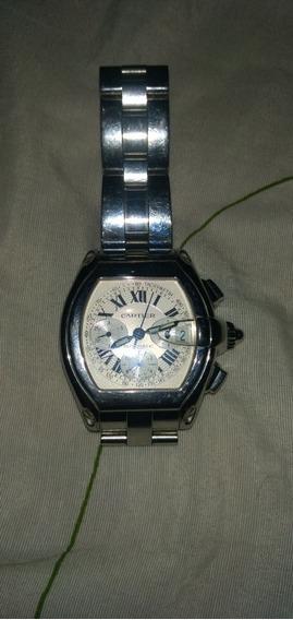 Relógio Da Marca Cartier Roadster Automático.(usado & Danif)