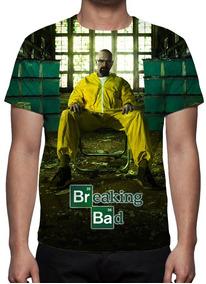 Camiseta Série Breaking Bad - Frete Grátis