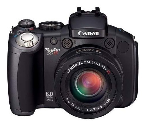 Canon Powershot Pro Series S5 Is 8.0mp Digital Camera