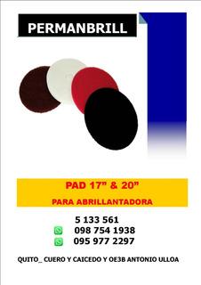 Pad Para Abrillantadora 17 & 20