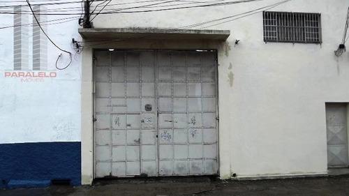 Galpão Para Alugar, 551 M² Por R$ 9.800,00/mês - Mooca - São Paulo/sp - Ga0012