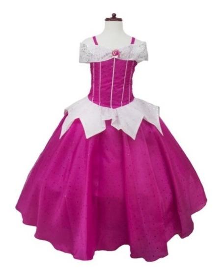 Vestido Difraz Princesa Aurora, La Bella Durmiente Disney