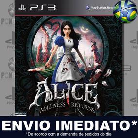 Alice Madness Returns Ps3 Midia Digital Psn Envio Imediato