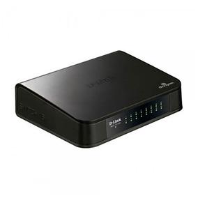 Switch 16 Portas D-link Fast 10/ 100 Mbps Qos Des-1016a