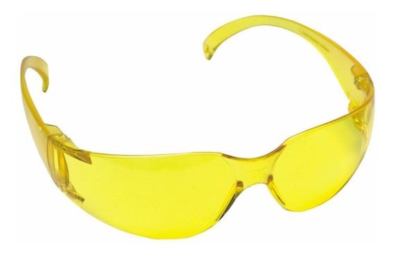 Oculos Segurança Prot.kalipso Leopardo Amarelo-kit C/6pçs