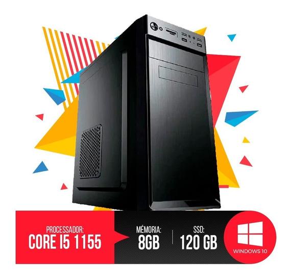 Desktop Pc I5 1155 8gb Ram, Hd Ssd 120gb, Super Promoção!!