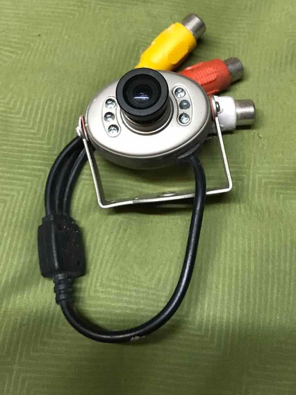 Mini Camara Oculta Espia Seguridad Y Vigilancia Cctv