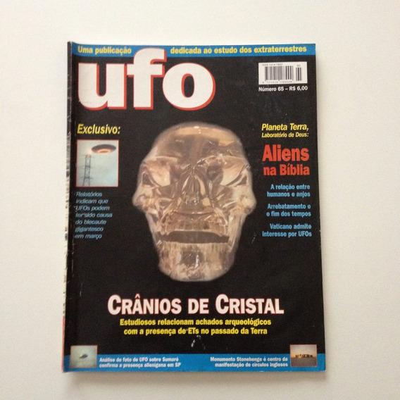 Revista Ufo Crânios De Cristal Aliens Na Bíblia N°65