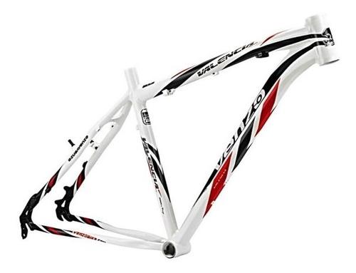 Quadro Bike Aro 26 Mtb Venzo Valencia Tamanho 18 Frete Grati