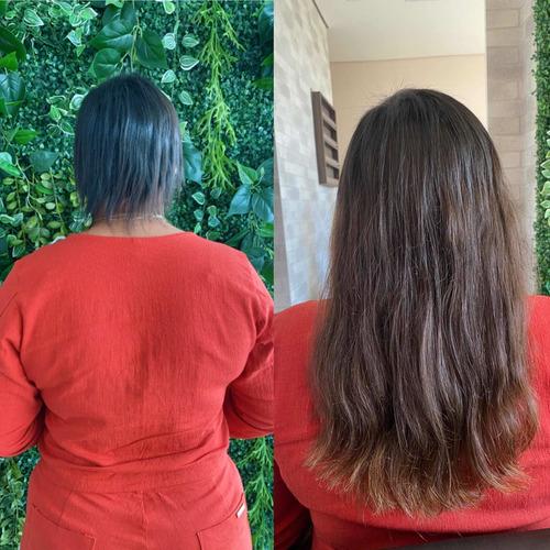 Imagem 1 de 5 de Manutenção Do Mega Hair De Fita Adesiva
