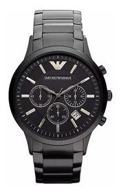 Relógio Pa0898 Emporio Armani Ar2453 Preto Original Oferta