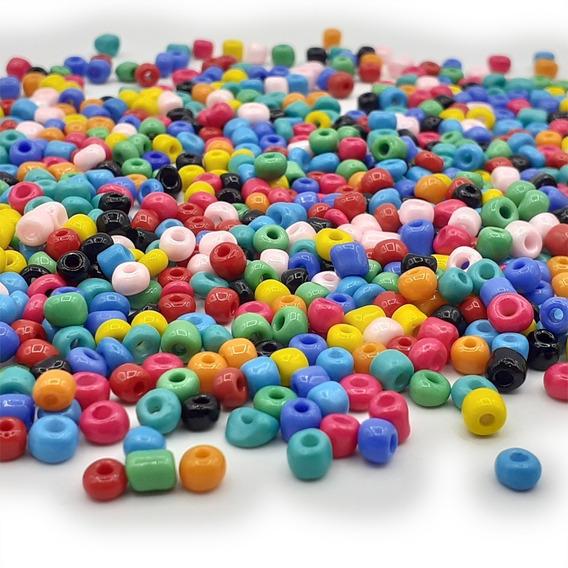Mostacillon Collares Bijou Accesorios Colores X 500 Gramos
