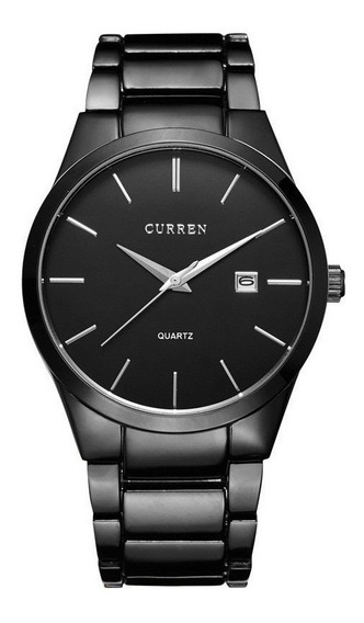 Relógio Masculino Curren 8106 Original Calendário