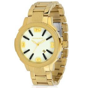 Relógio Victor Hugo 10086lsg/01m - Dourado