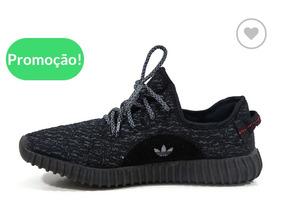 Promoçao Tênis adidas Yeezy-preto