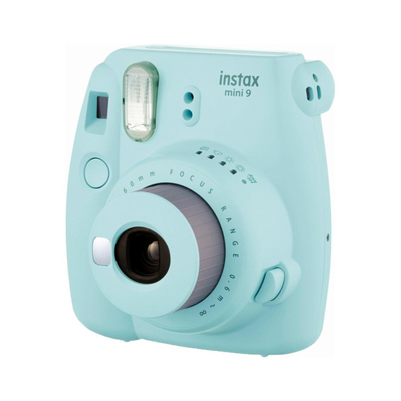 Câmera Instantânea Instax Mini 9 Fujifilm - Azul Aqua