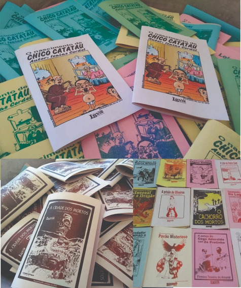500 Folhetos De Literatura De Cordel
