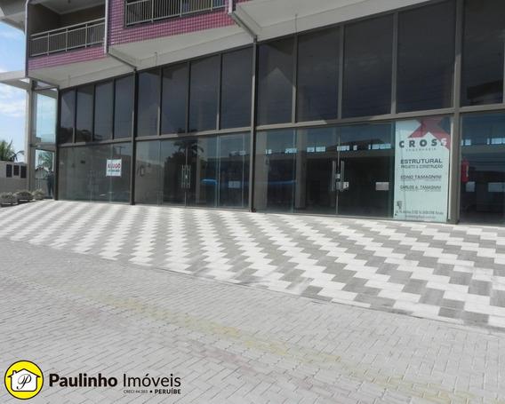 Alugo Salão E Mezanino Com 250 M2, Mais Depósito Com 50 M2 Na Praia De Peruíbe. Oportunidade! - Sl00089 - 32792828